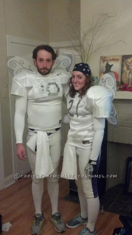 DirecTV Commercial NFL Sunday Ticket Fairies Couple Costume: It's On!