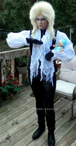 Homemade Jareth the Goblin King Costume