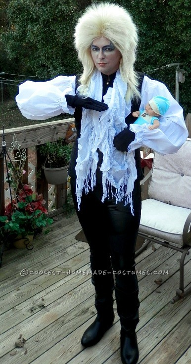 Homemade Jareth the Goblin King Costume - 1