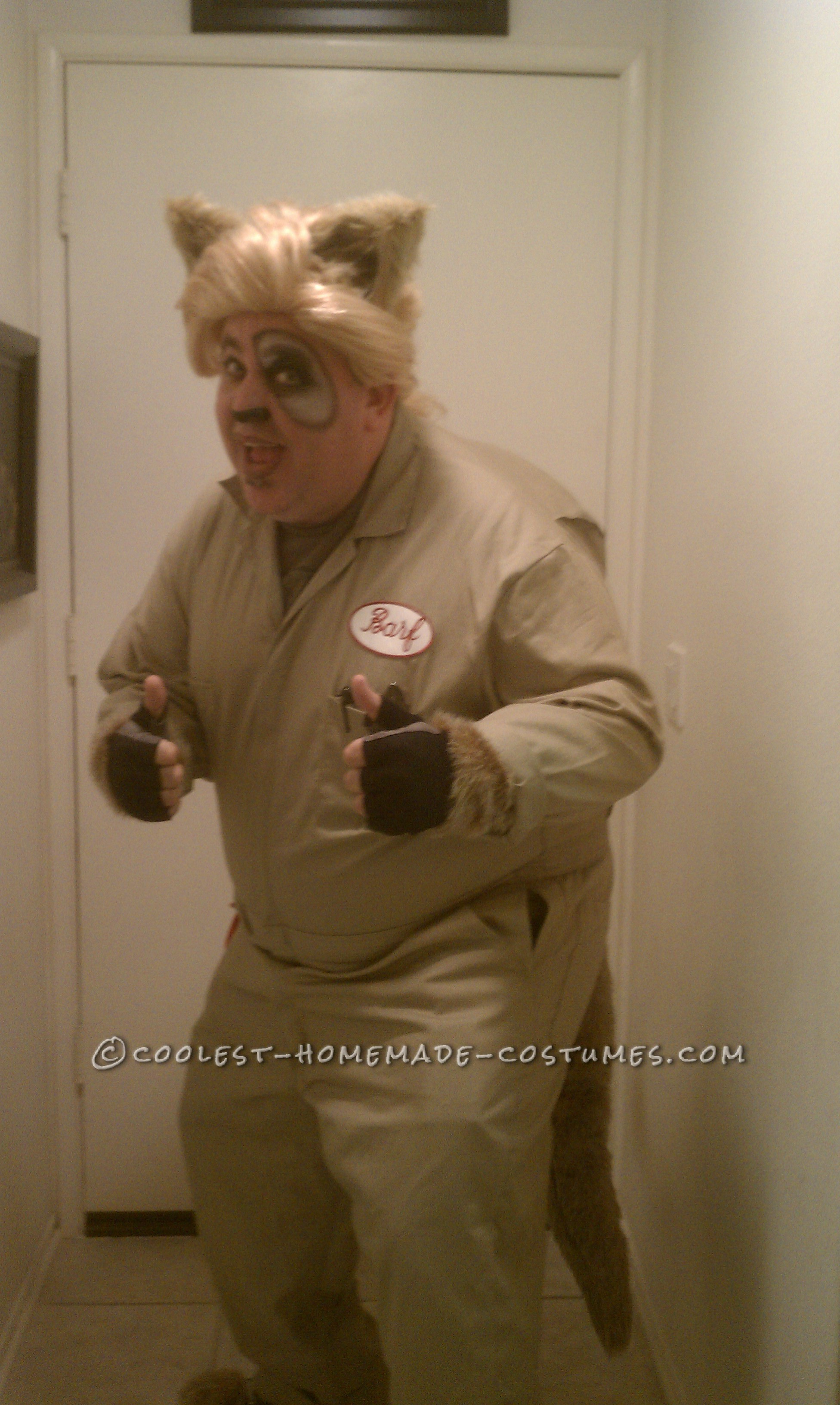 Cool DIY Barf Costume from Spaceballs