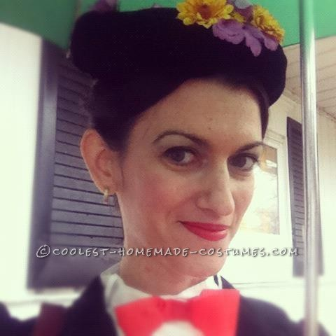 Last-Minute Homemade Mary Poppins Costume (That Didn't Cost a Penny!)