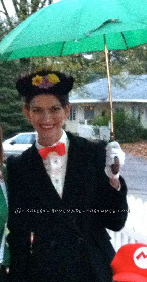 Last-Minute Homemade Mary Poppins Costume (That Didn't Cost a Penny!) - 3
