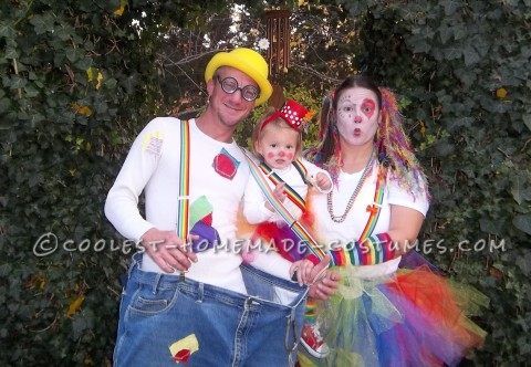 Clowning Around with Cool Homemade Clown Costumes for the Family