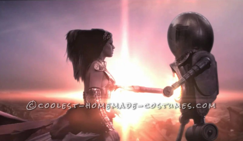 Screen shot from the video