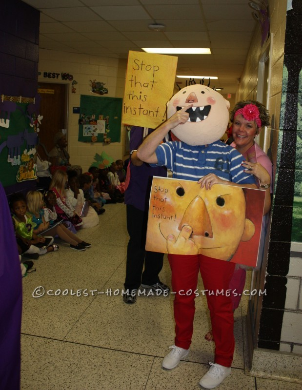 "Fun DIY Costume by a Kindergarten Teacher: David from ""No, David!"" Children's Book - 1"