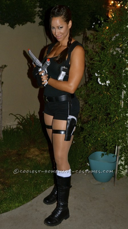 Sexy Homemade Lara Croft Costume