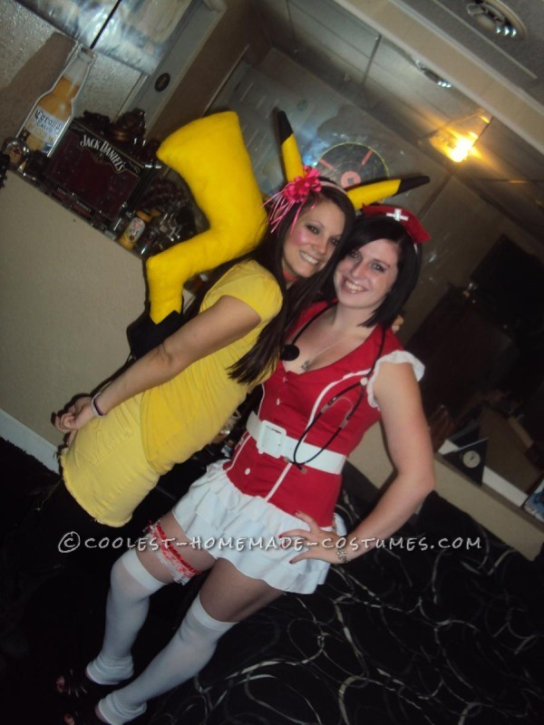 Last-Minute Homemade Pikachu Costume - 2