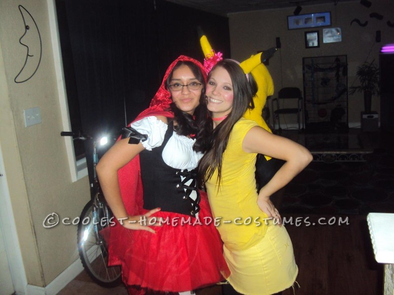 Last-Minute Homemade Pikachu Costume - 4