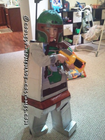 Cool Homemade LEGO Boba Fett Costume Idea