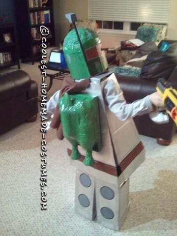 Cool Homemade LEGO Boba Fett Costume Idea