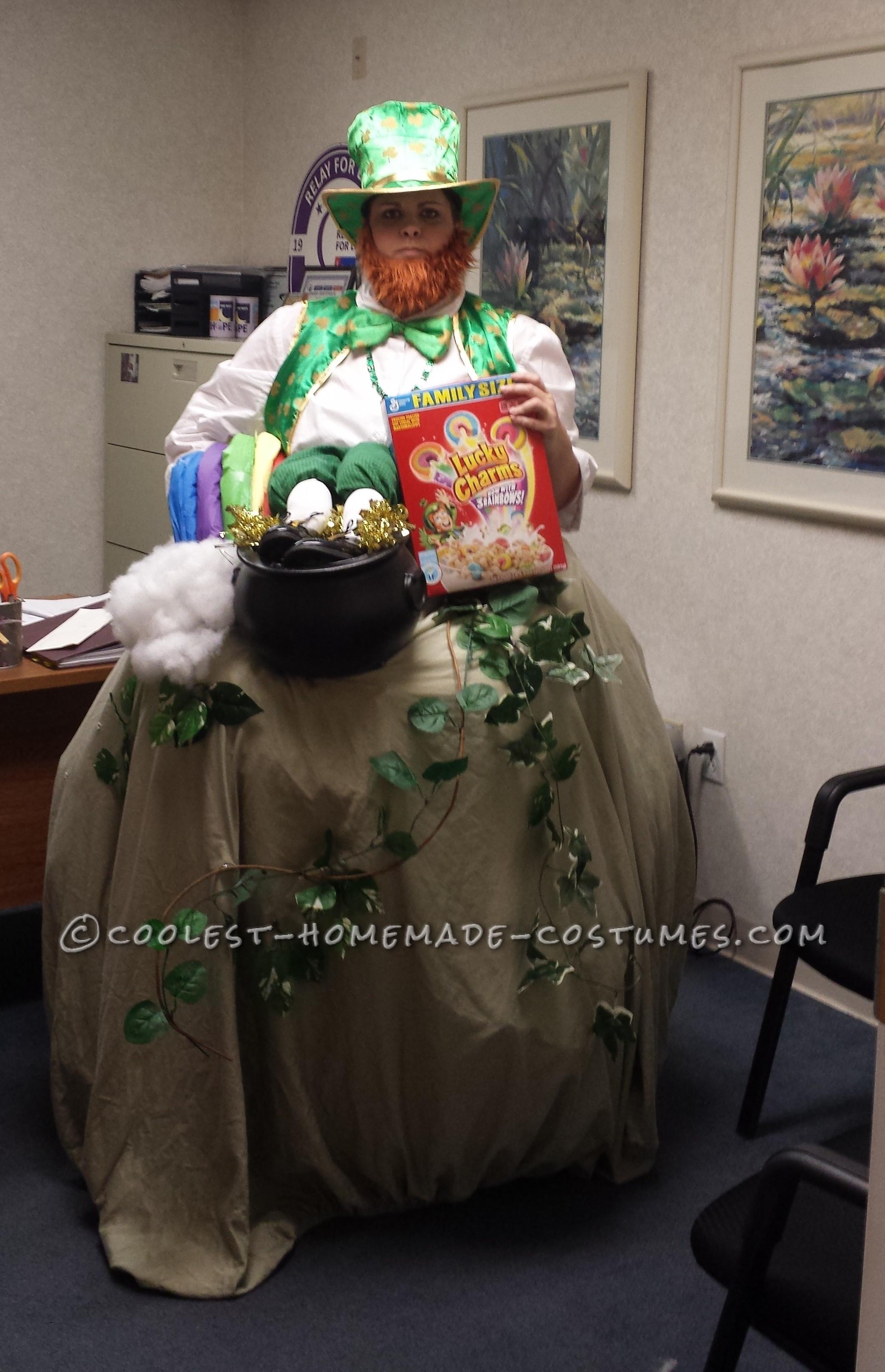 Cool Homemade Leprechaun Costume
