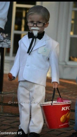 Original Homemade 'Lil Colonel Sanders Costume