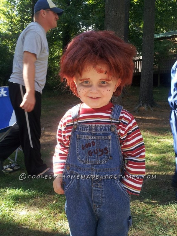 Contest-Winning Little Chucky Costume for a Toddler