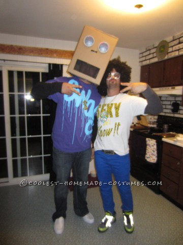 Easy Last-Minute LMFAO Couple Costume