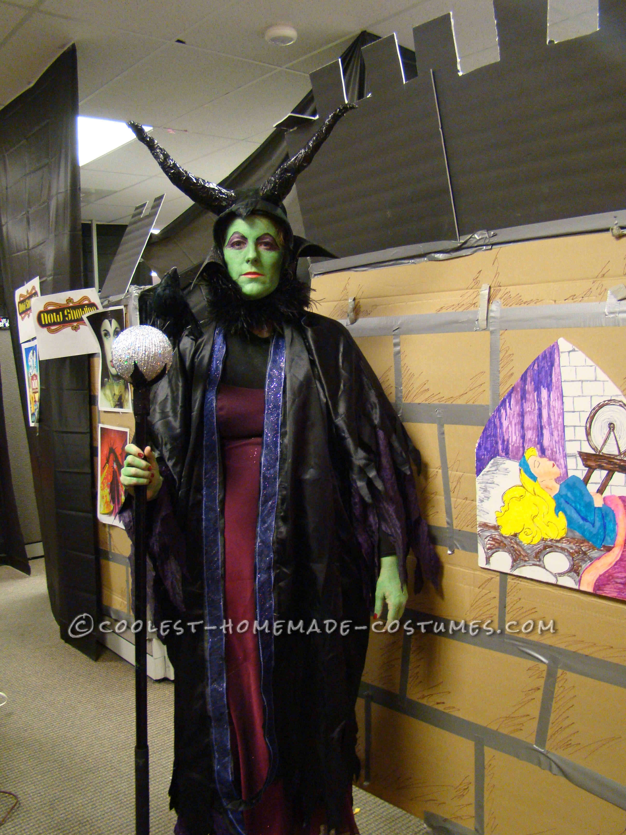 Coolest Homemade Malecifent Costume