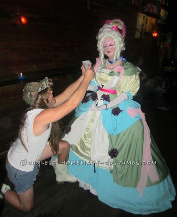 Classic Handmade Marie Antoinette Costume - 1
