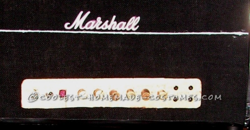 Front panel of the Marshall JTM45 PA head