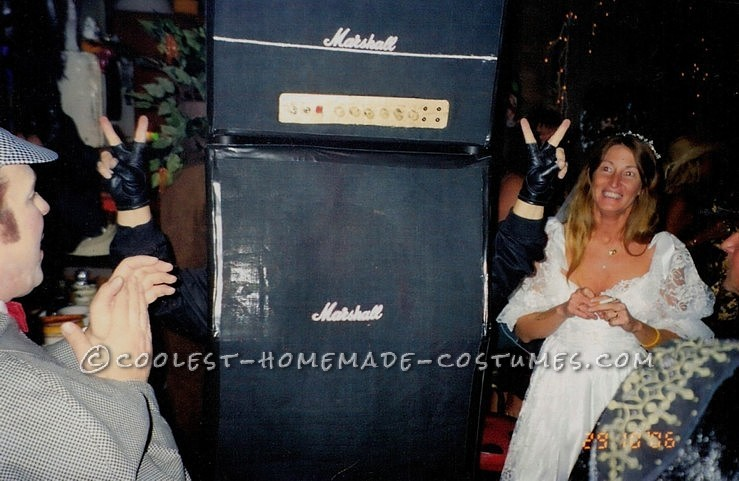 Original Homemade Marshall Stack Amps and Speakers Costume!