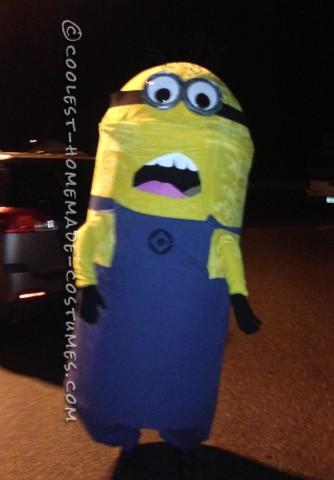 Magnificent Homemade Minion Costume
