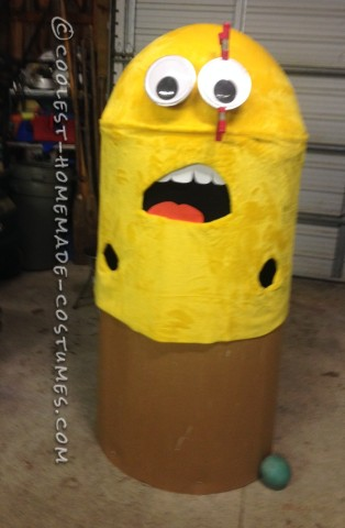 Magnificent Homemade Minion Costume