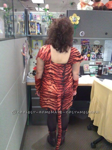 Miss Tiger Costume