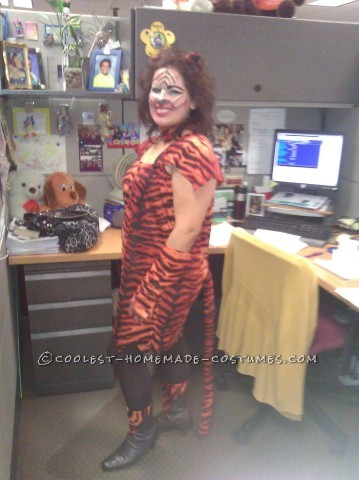 Miss Tiger Costume