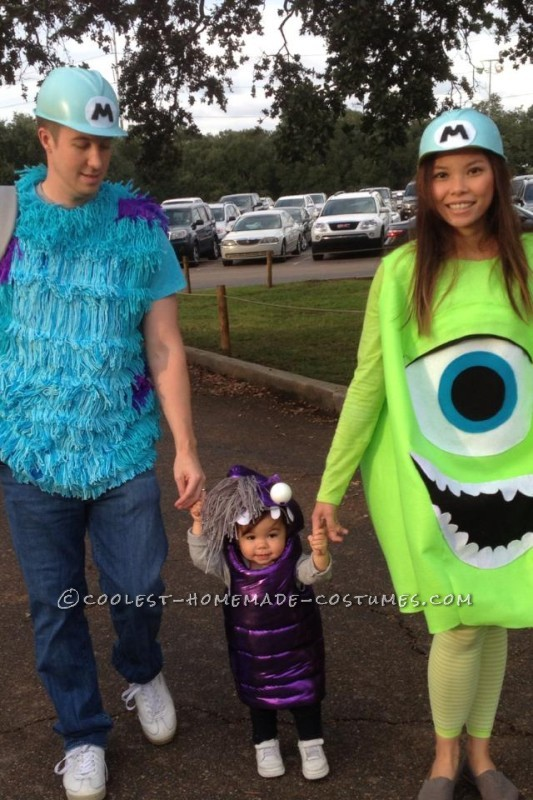 Sully, Mike, and Boo! Oo My!!