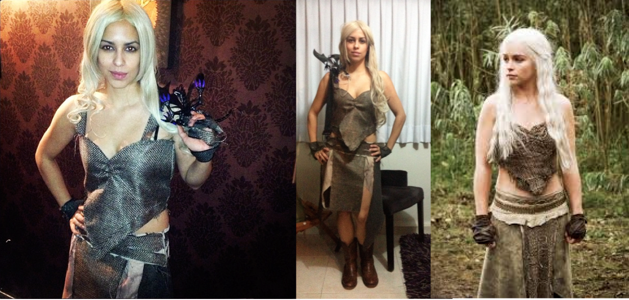 Sexy Homemade Game of Thrones Costume: Mother of Dragons