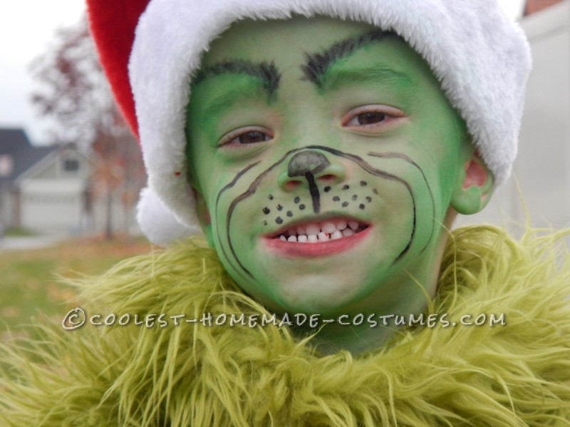Mr. Grinch is happy