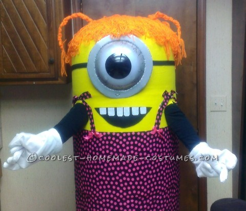Coolest Homemade Ms. Minion Halloween Costume