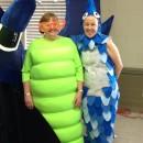 Funny Homemade Mum's the Worm Costume