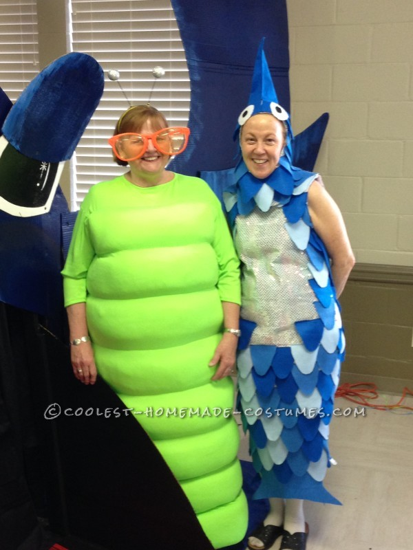 Me as the Worm standing with the Big Fish
