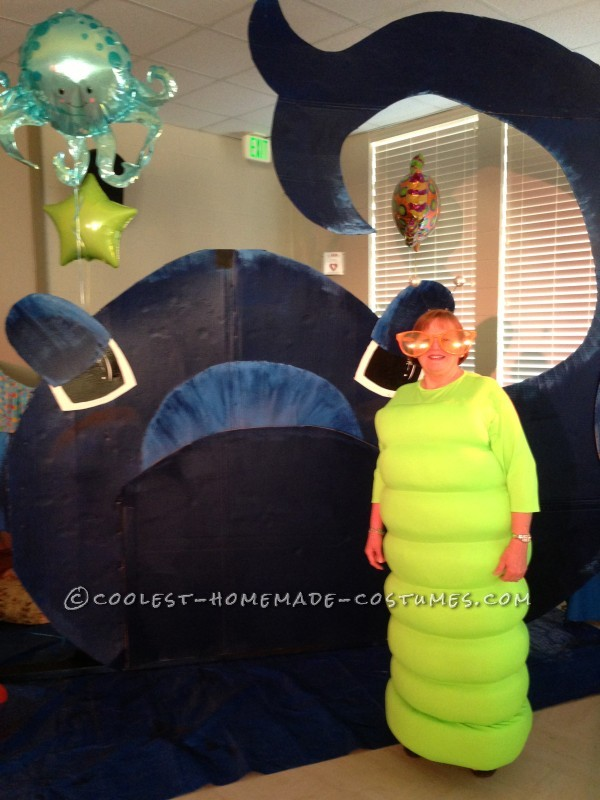 Funny Homemade Mum S The Worm Costume