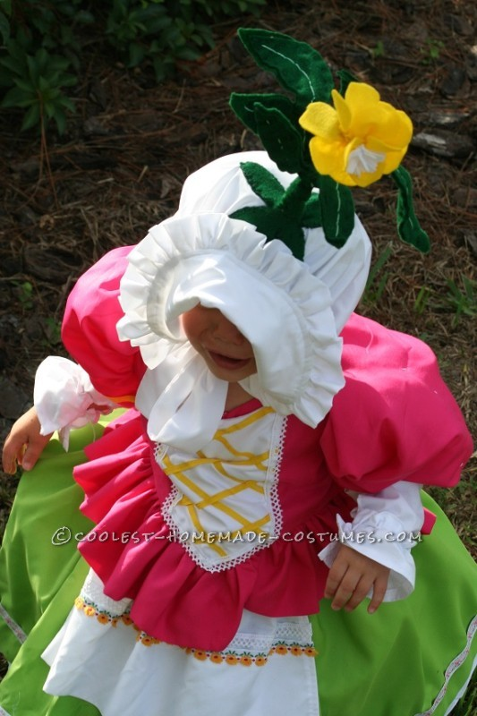 Cute Homemade Toddler Costume: Munchkin from Wizard of Oz - 1