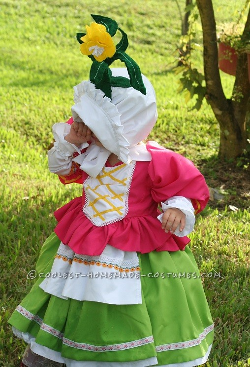 Cute Homemade Toddler Costume: Munchkin from Wizard of Oz - 2