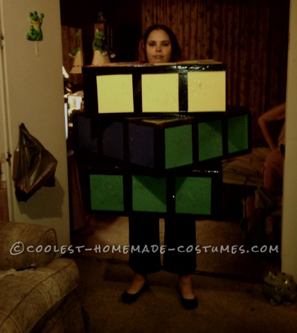 Homemade Rubik's Cube Costume - My Favorite 80's Toy