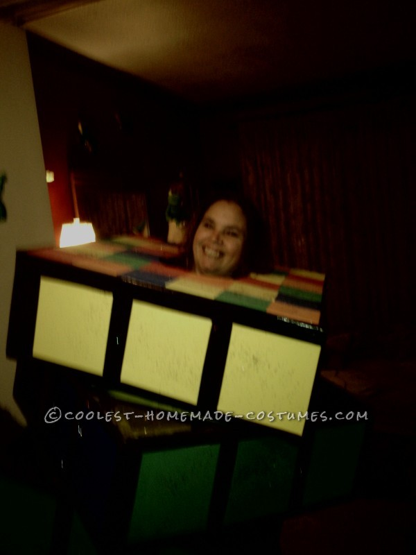 Homemade Rubik's Cube Costume – My Favorite 80's Toy - 1