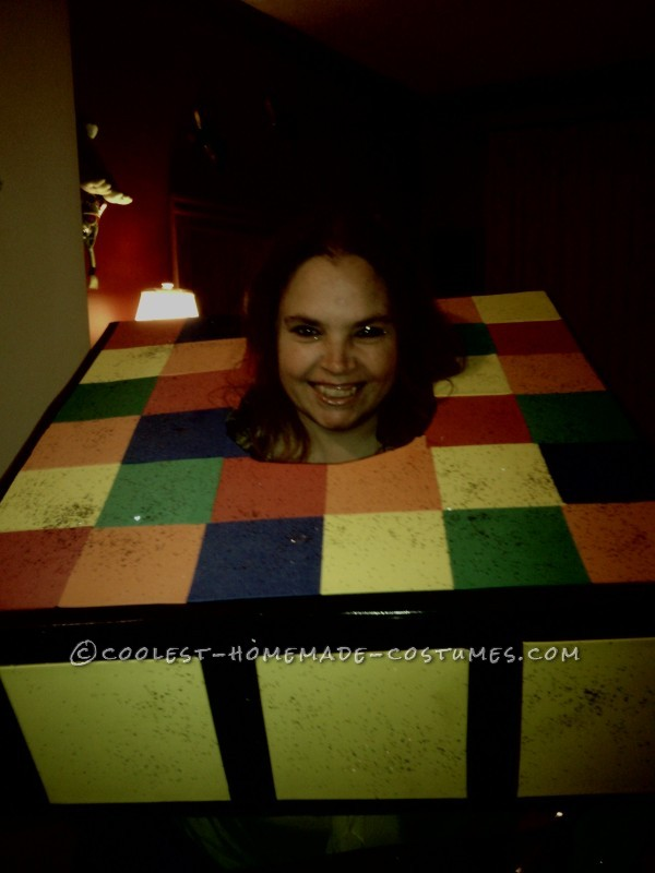 Homemade Rubik's Cube Costume - My Favorite 80's Toy