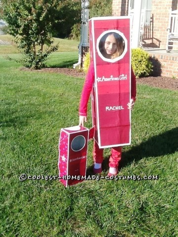 """Limited Edition"" American Girl Doll in a Box Costume"