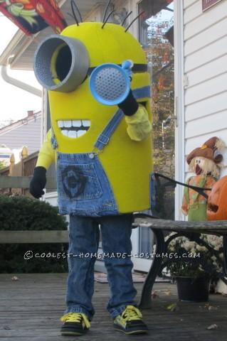 Coolest Little Despicable Me Minion Costume for a Boy