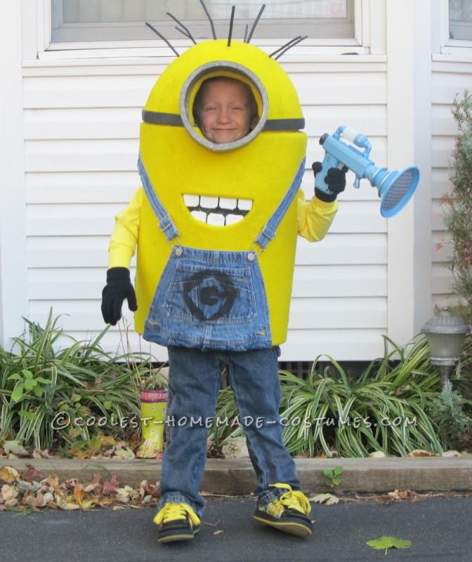 Coolest Little Despicable Me Minion Costume for a Boy - 1