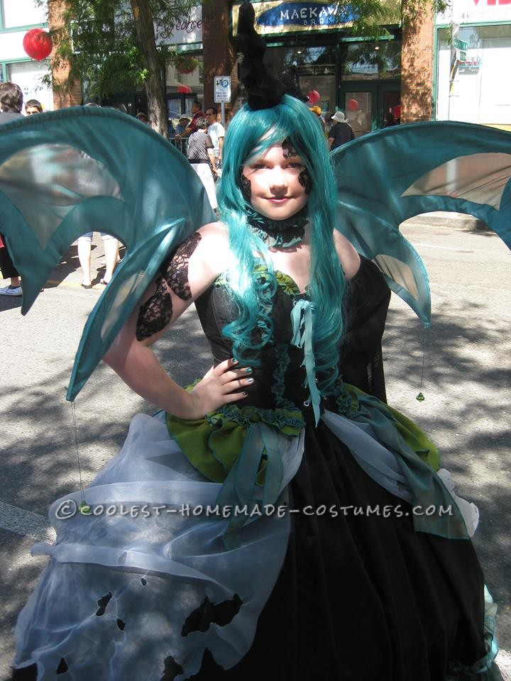 Cool Homemade My Little Pony Queen Chrysalis Costume