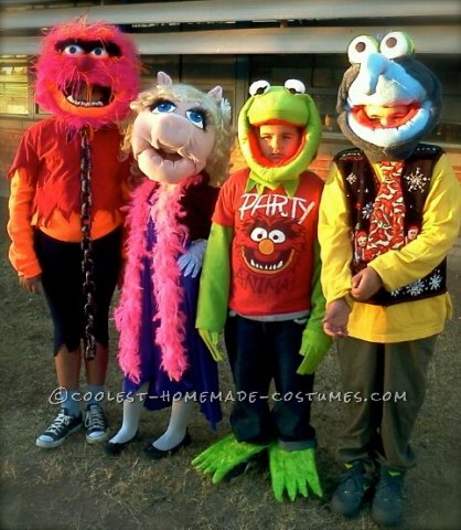 My Muppets Homemade Group Costume