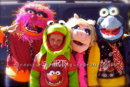 My Muppets Homemade Group Costume - 1