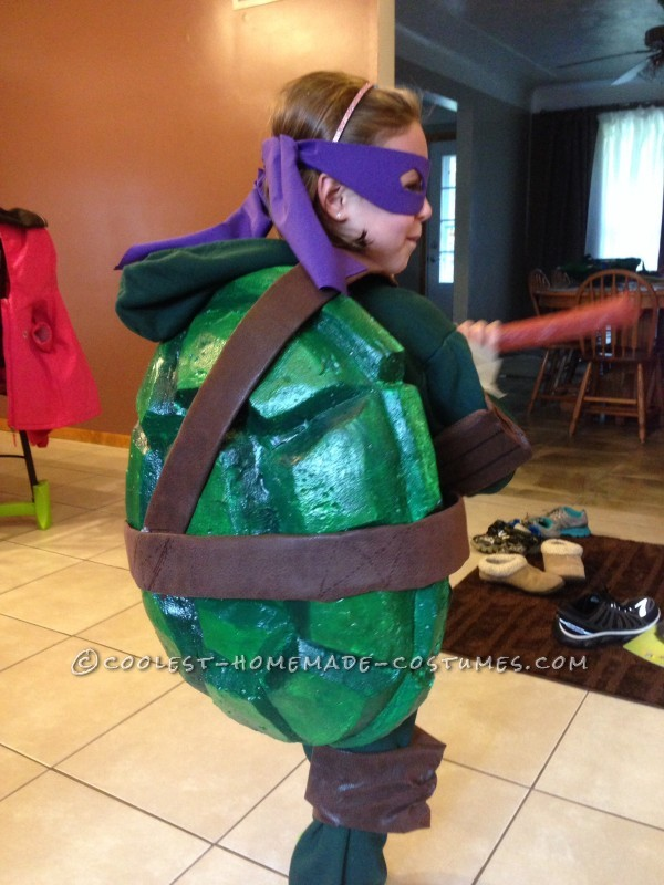 Cool Homemade Ninja Turtles Costumes for Two Children - 2