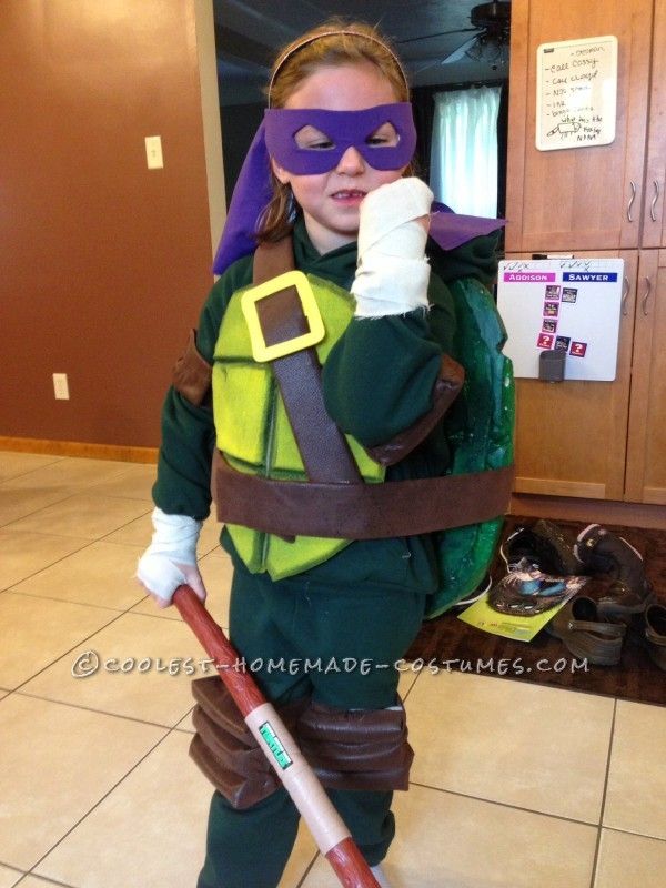 Cool Homemade Ninja Turtles Costumes for Two Children - 3