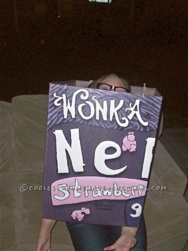 Cool DIY Couple Costume: Willy Wonka Nerds Candy Couple