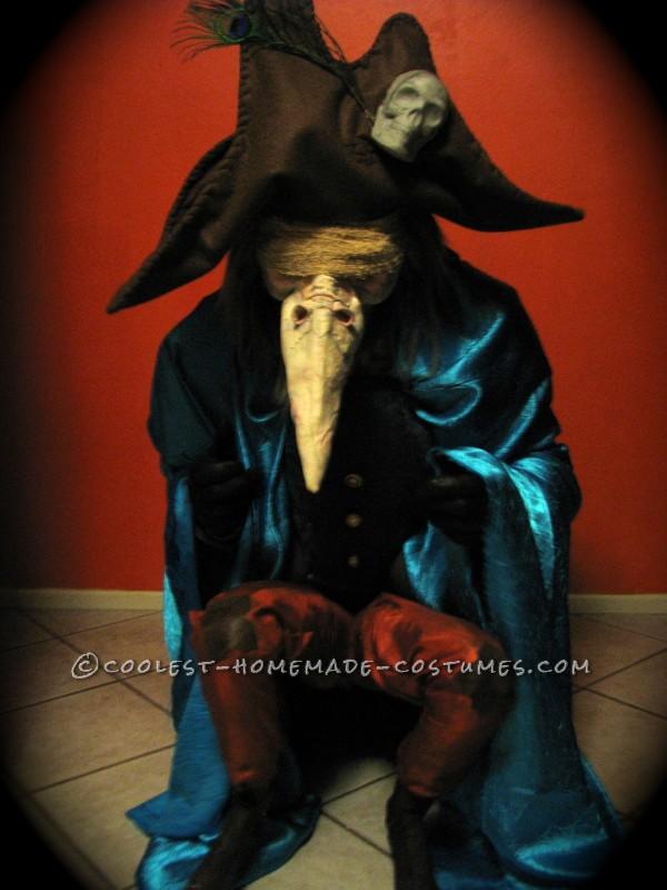 Elaborate Homemade Labyrinth Costume