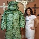 One of a Kind! Homemade Geico Money Man Costume