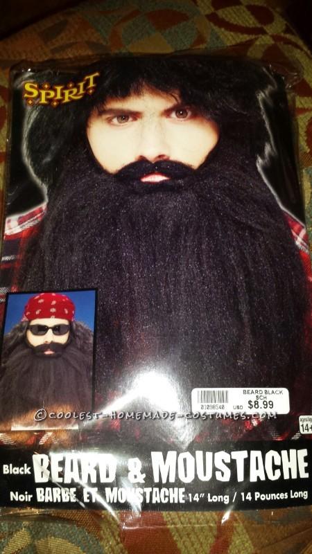 Create Mustache and Beard